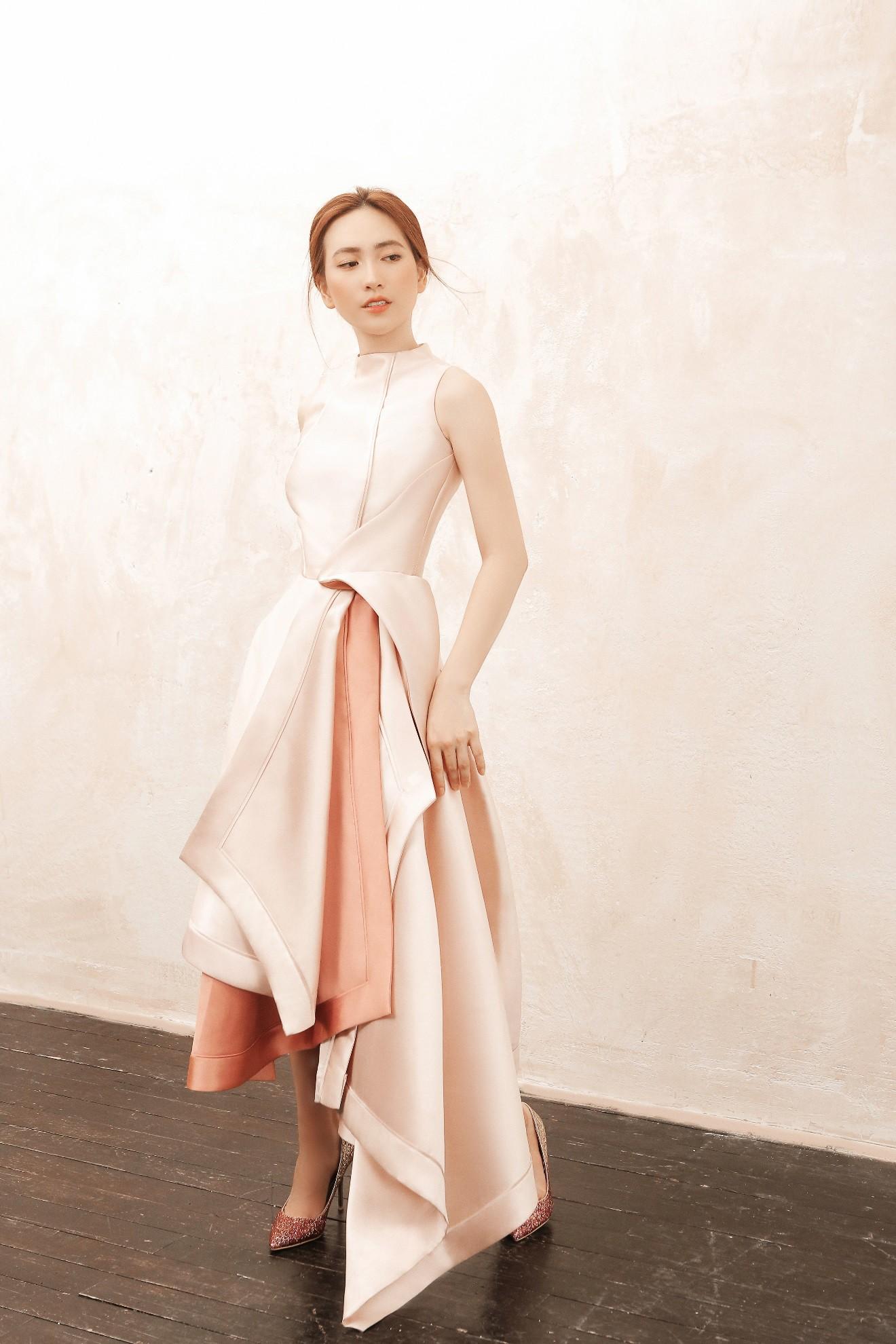 """Sau """"Chàng vợ của em"""", Phương Anh Đào đầy xinh đẹp, cuốn hút trong BST từng xuất hiện trên Vogue của PHUONG MY - Ảnh 9."""
