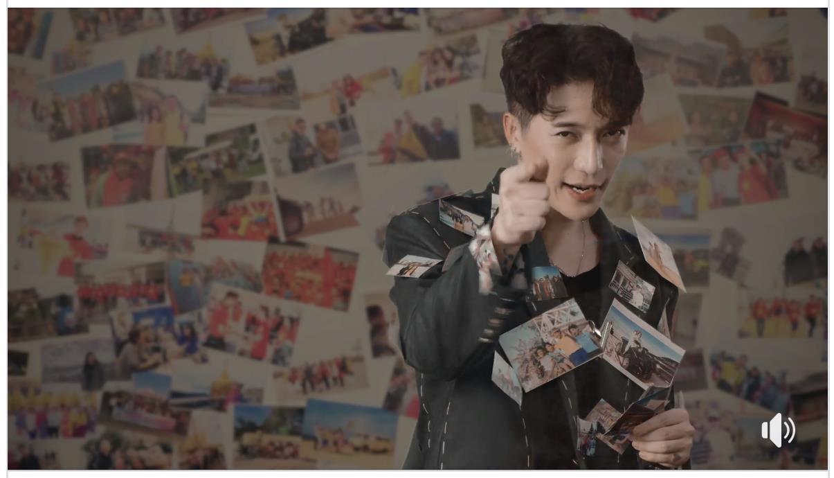 Châu Đăng Khoa dán đầy ảnh du lịch lên người trong MV mới - Ảnh 2.