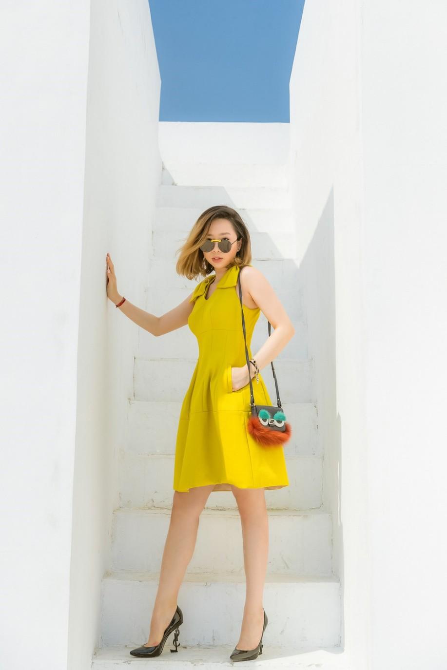 """Gặp gỡ cô nàng du học sinh """"mặc chất"""" như fashionista khiến NTK Văn Thành Công xao xuyến - Ảnh 1."""
