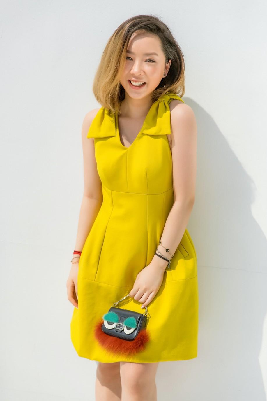 """Gặp gỡ cô nàng du học sinh """"mặc chất"""" như fashionista khiến NTK Văn Thành Công xao xuyến - Ảnh 2."""