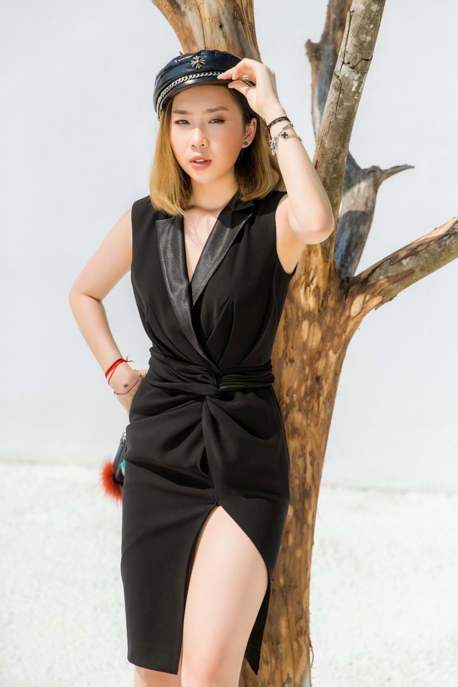"""Gặp gỡ cô nàng du học sinh """"mặc chất"""" như fashionista khiến NTK Văn Thành Công xao xuyến - Ảnh 3."""