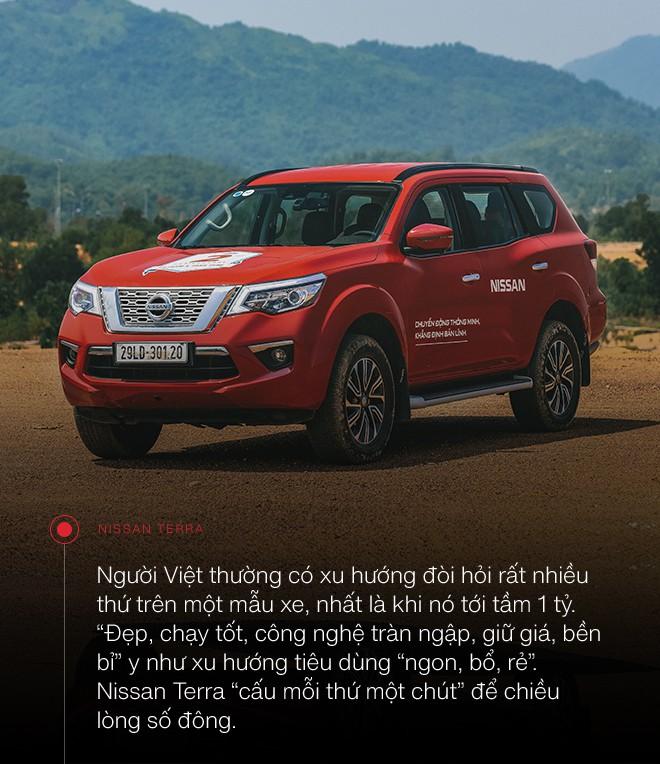 Đánh giá Nissan Terra: SUV 7 chỗ biết chiều chuộng người Việt - Ảnh 2.