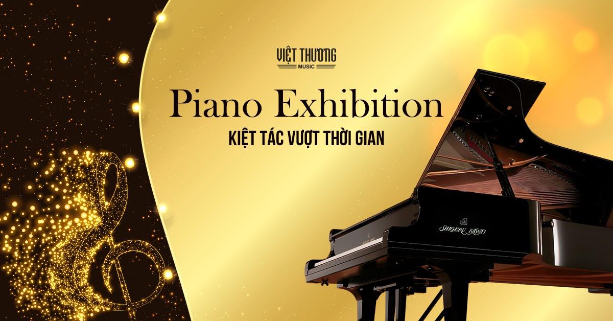 Giao lưu cùng ca sĩ Thùy Chi tại Triển lãm Piano Exhibition - Ảnh 2.