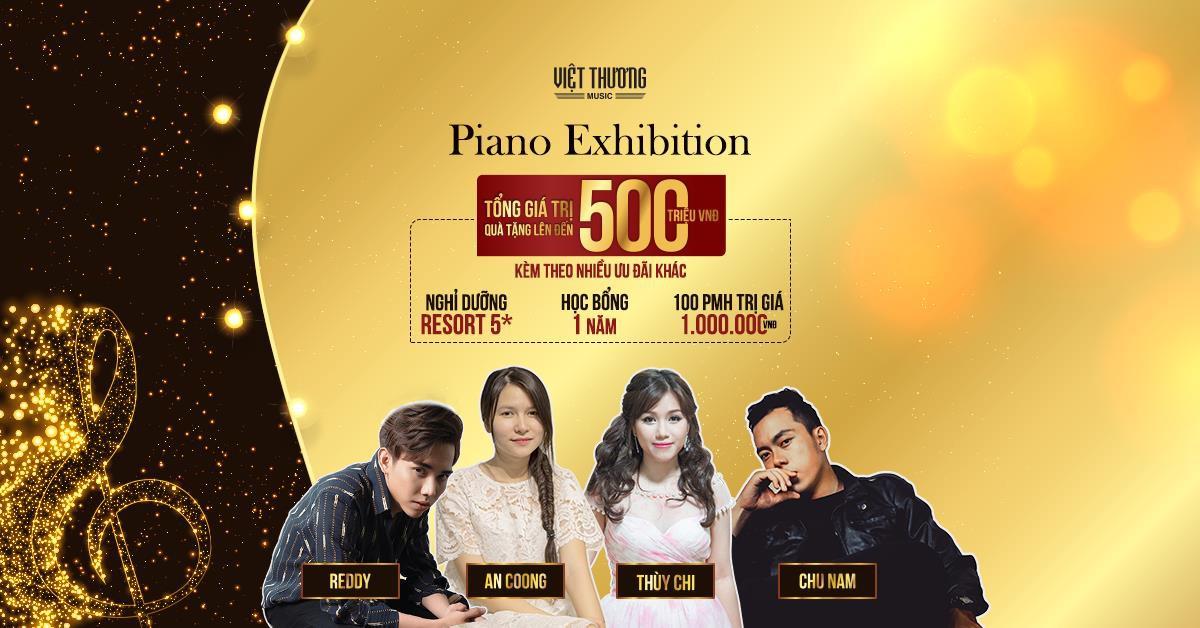 Giao lưu cùng ca sĩ Thùy Chi tại Triển lãm Piano Exhibition - Ảnh 3.