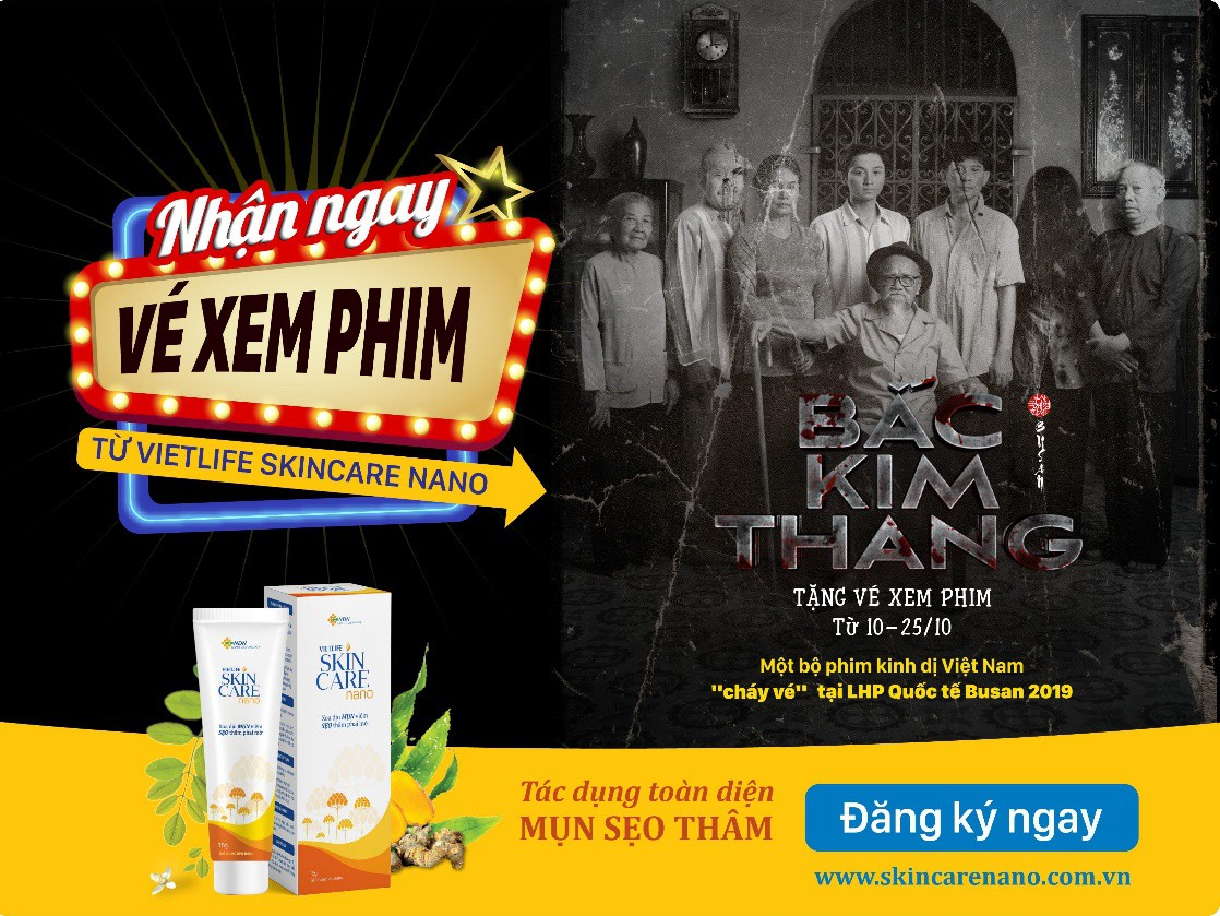 Vietlife Skincare Nano tặng vé xem phim Bắc Kim Thang cho 2.500 học sinh, sinh viên Việt dịp Halloween 2019 - Ảnh 1.