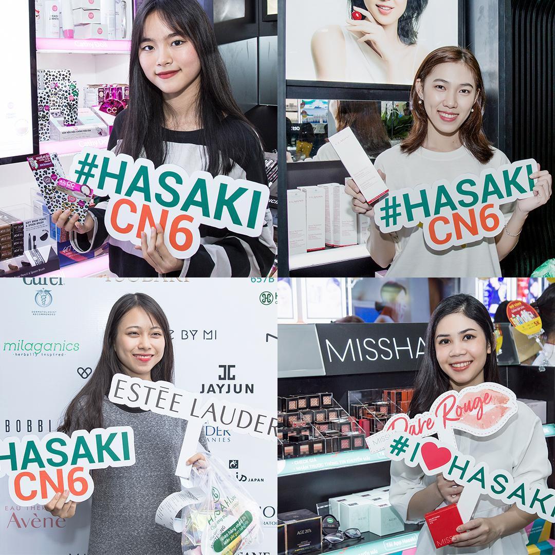 """Hàng ngàn tín đồ làm đẹp """"đu đưa quên lối về"""" tại Hasaki - Thiên đường mỹ phẩm chính hãng mới toanh ở Gò Vấp - Ảnh 3."""