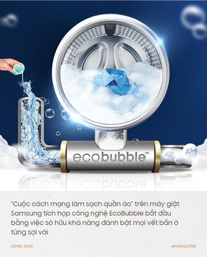 Công nghệ EcoBubble - Sức sáng tạo mãnh liệt của Samsung không chỉ ở riêng smartphone - Ảnh 6.
