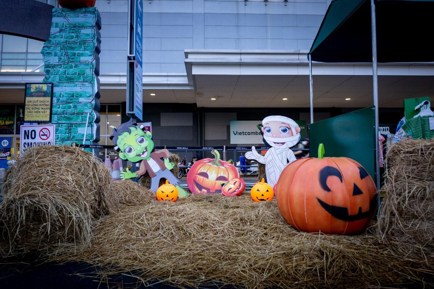 Trải nghiệm Halloween huyền bí tại Aeon Mall Tân Phú Celadon - Ảnh 2.