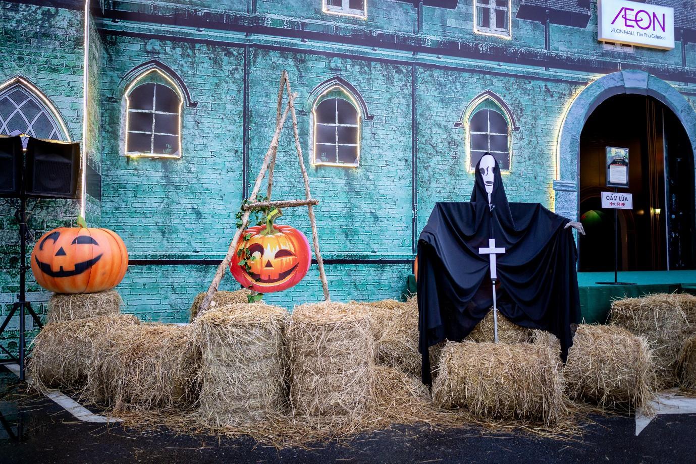 Trải nghiệm Halloween huyền bí tại Aeon Mall Tân Phú Celadon - Ảnh 3.