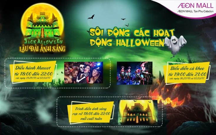 Trải nghiệm Halloween huyền bí tại Aeon Mall Tân Phú Celadon - Ảnh 7.