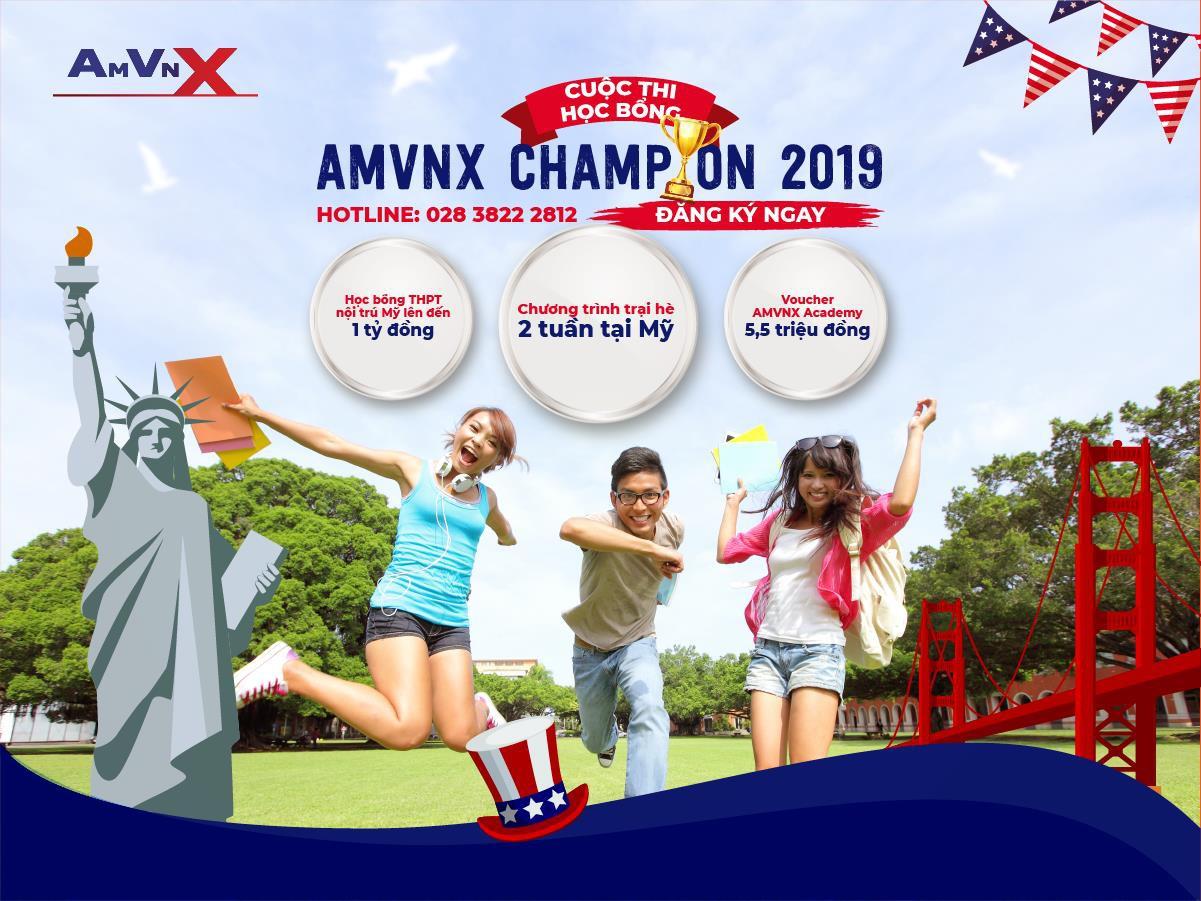 """Cuộc thi """"Học bổng THPT Mỹ AMVNX 2019"""" chính thức khởi động - Ảnh 1."""