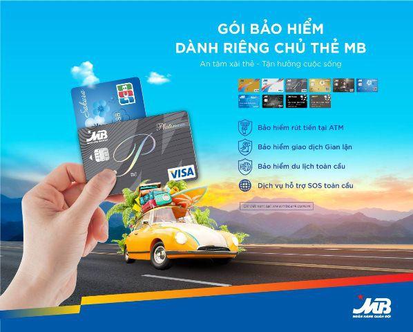 Chủ thẻ MB được bảo hiểm khi gặp rủi ro trong quá trình giao dịch thẻ - Ảnh 1.