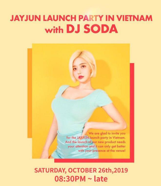DJ Soda sẽ xuất hiện tại tiệc ra mắt sản phẩm mỹ phẩm JAYJUN vào Halloween này - Ảnh 1.