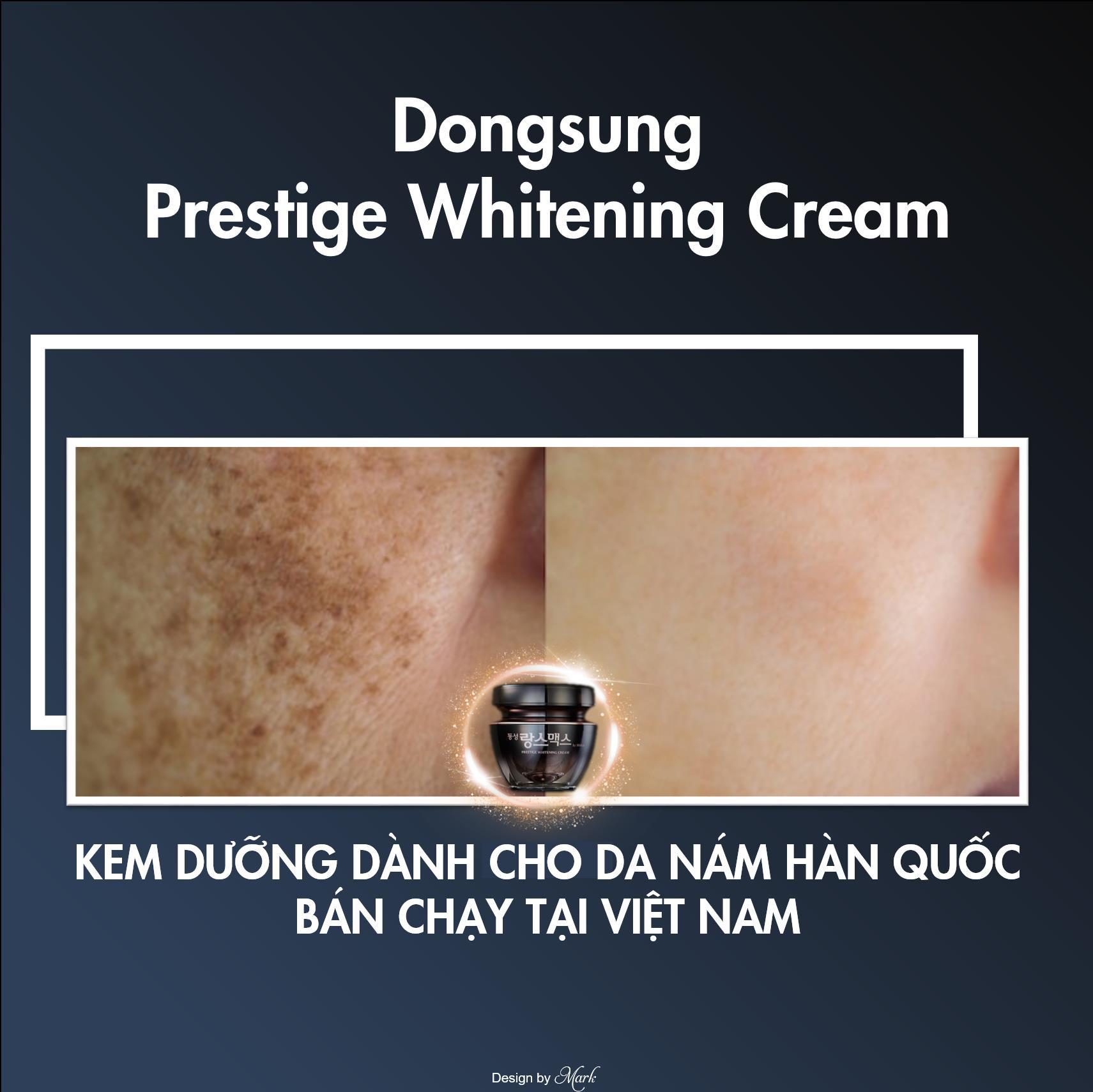Chưa 30 mà đã có nám chi chít, thử ngay Dongsung Presitege Whitening Cream để thấy sự khác biệt - Ảnh 1.