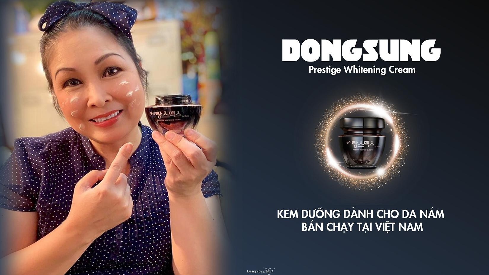 Chưa 30 mà đã có nám chi chít, thử ngay Dongsung Presitege Whitening Cream để thấy sự khác biệt - Ảnh 2.
