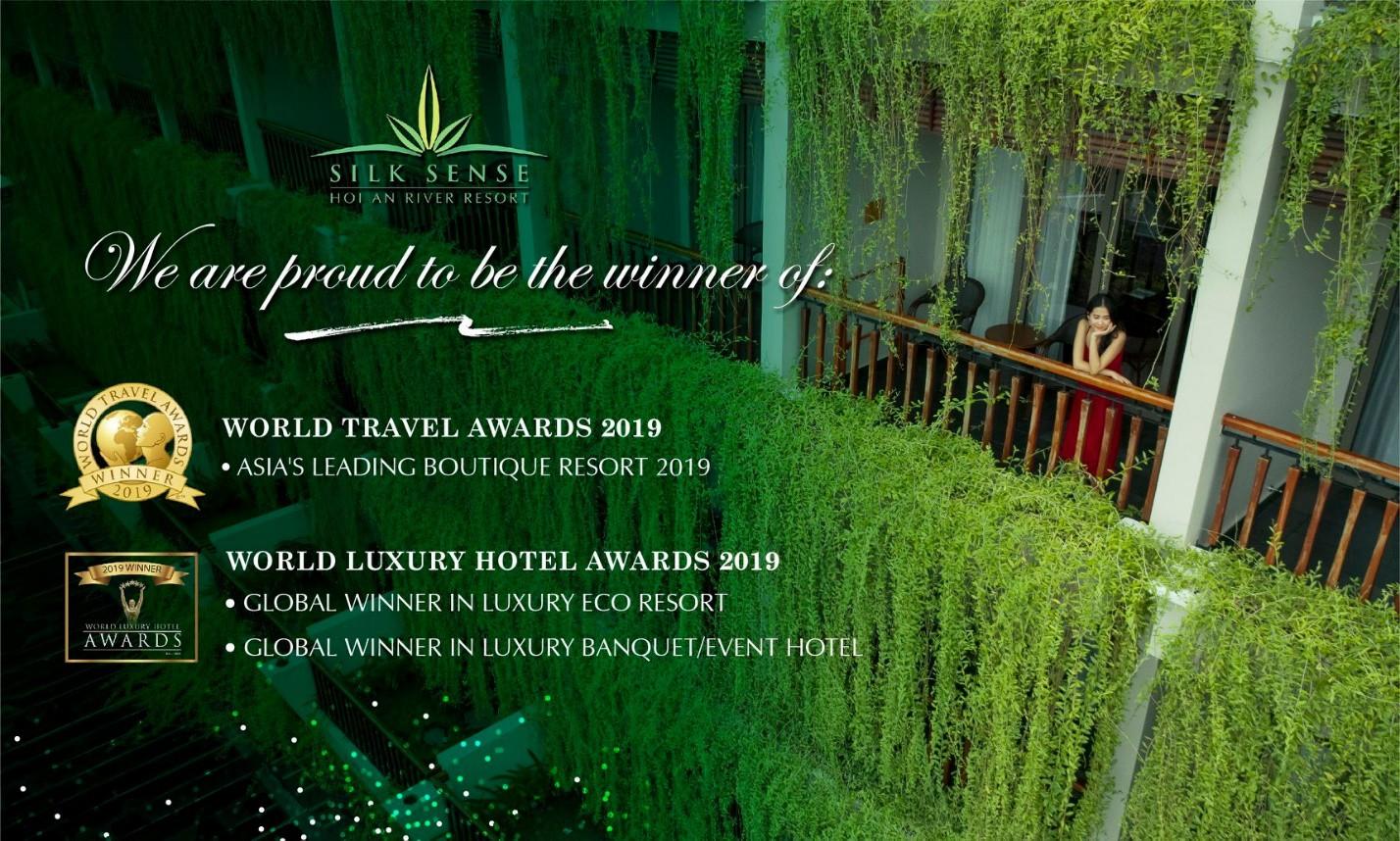 Silk Sense Hội An Resort liên tiếp nhận 3 giải thưởng du lịch danh giá hàng đầu thế giới - Ảnh 2.
