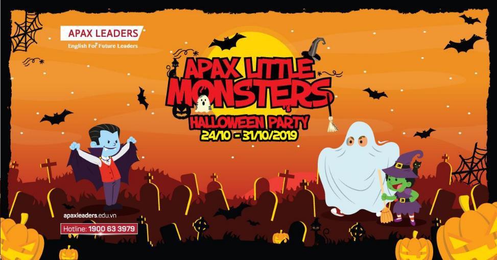 """Vui hết mình tại lễ hội Halloween """"Apax Little Monsters – siêu quái tí hon Apax"""" - Ảnh 1."""