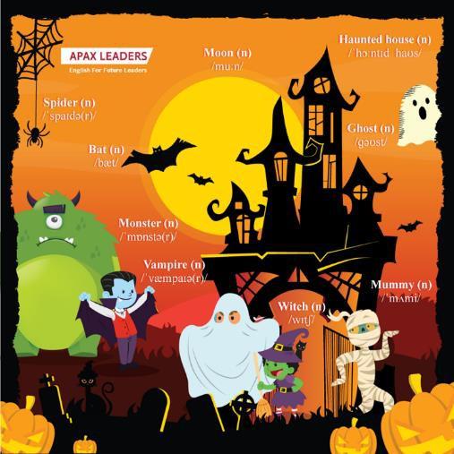 """Vui hết mình tại lễ hội Halloween """"Apax Little Monsters – siêu quái tí hon Apax"""" - Ảnh 3."""