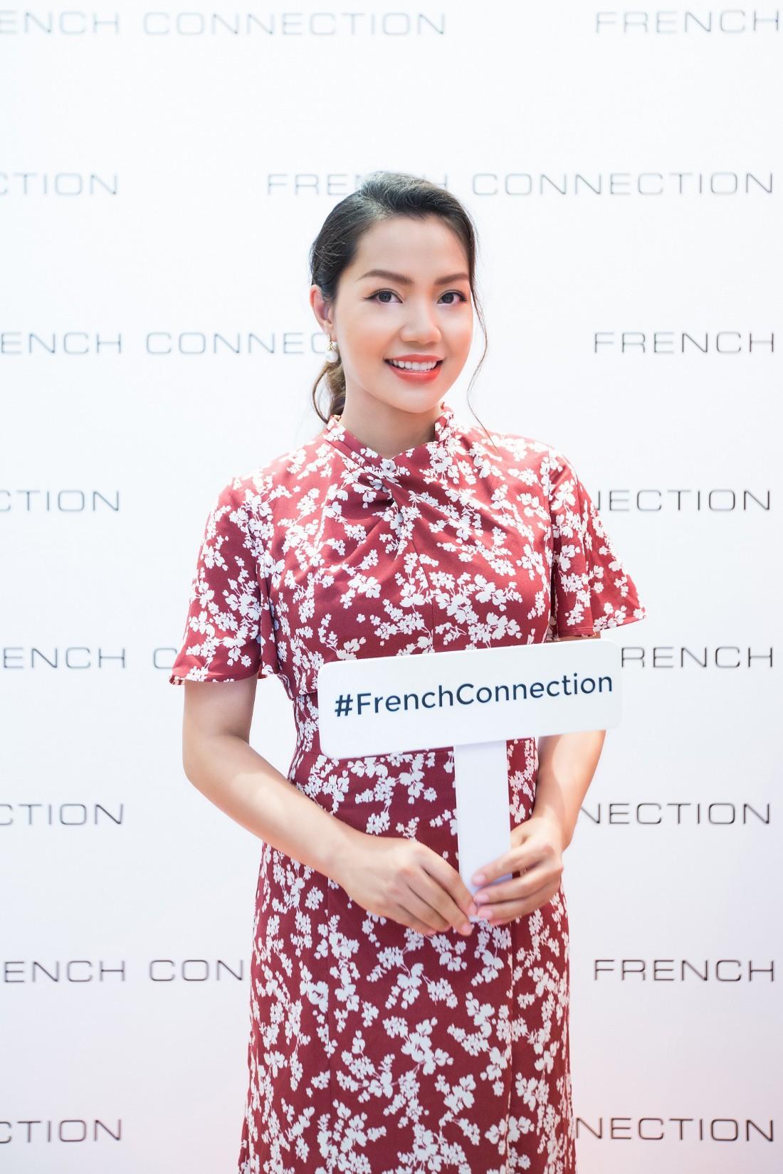 Á hậu Tú Anh ngẫu hứng phối đồ phong cách cho diễn viên Lương Thanh ngay tại sự kiện thời trang - Ảnh 3.