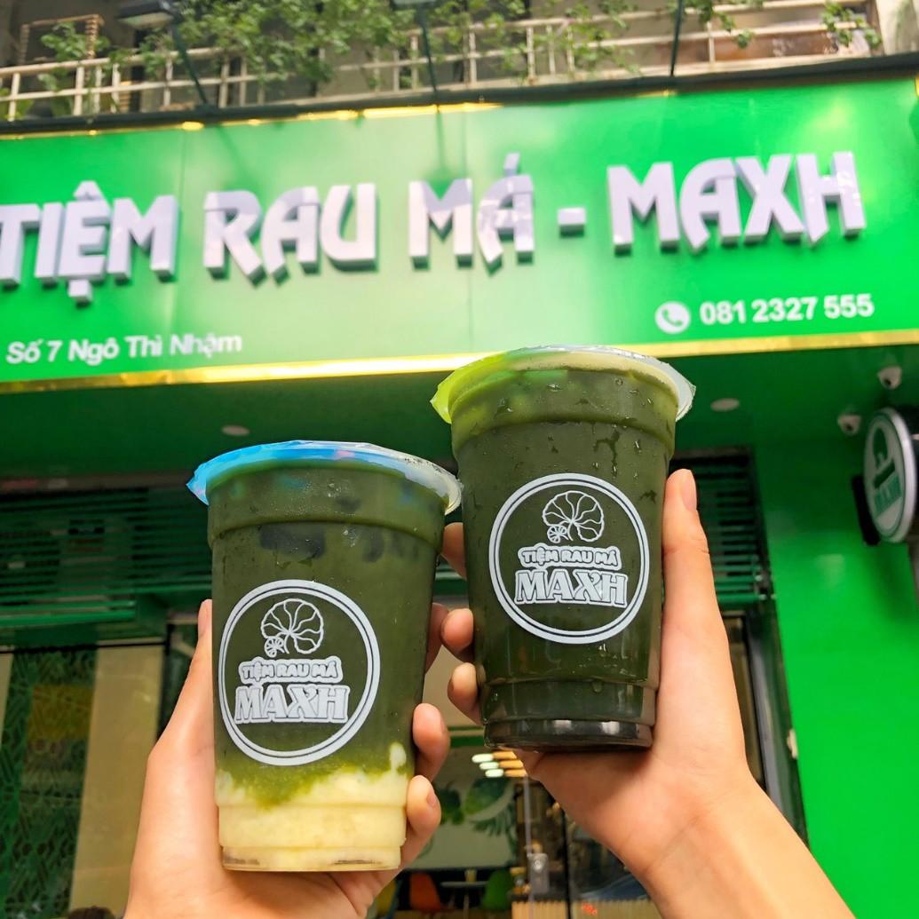 Có gì ở Tiệm Rau Má MAXH mới toanh đang được giới trẻ Hà Nội check-in rần rần - Ảnh 1.
