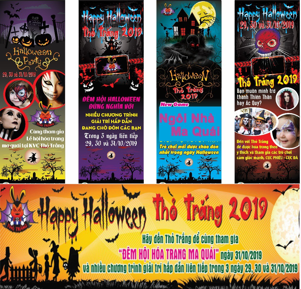 Lễ hội Halloween đầy màu sắc tại Thỏ Trắng - Ảnh 1.