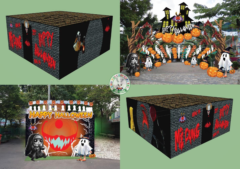 Lễ hội Halloween đầy màu sắc tại Thỏ Trắng - Ảnh 2.