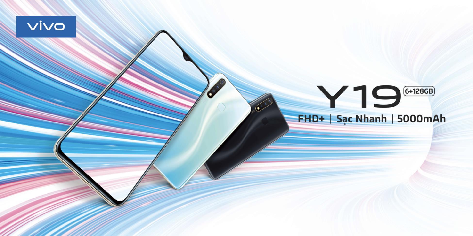 """Vivo Y19: RAM xịn, pin khủng, """"giá ghi bàn"""" sẽ ra mắt vào 01/11 tới đây - Ảnh 2."""