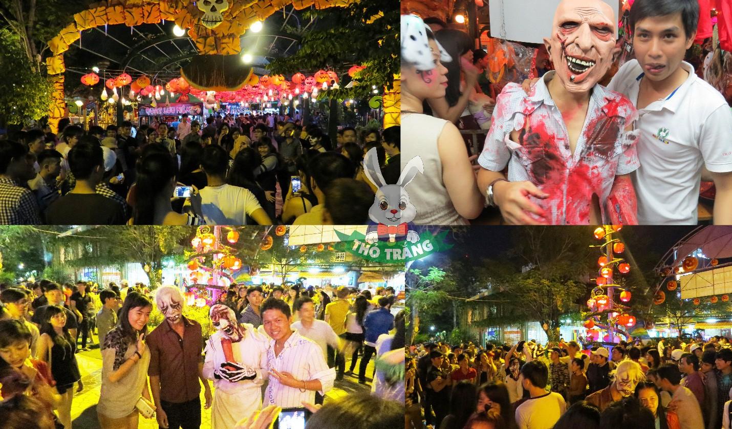Lễ hội Halloween đầy màu sắc tại Thỏ Trắng - Ảnh 3.