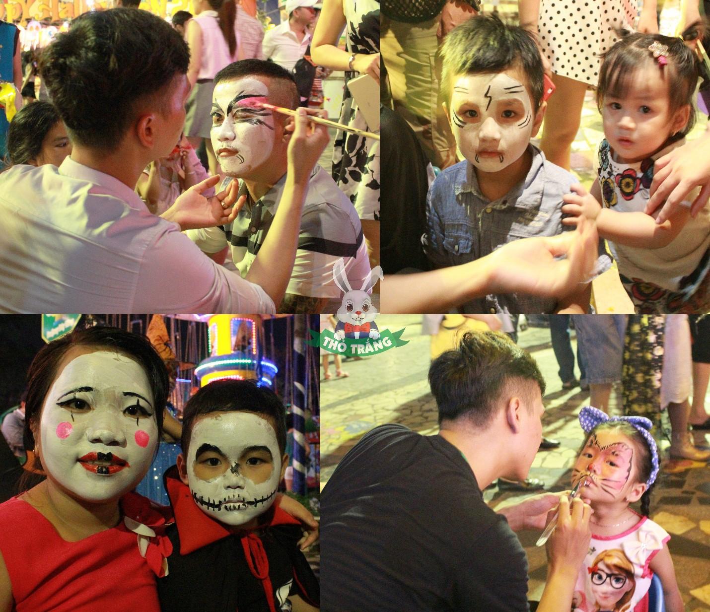 Lễ hội Halloween đầy màu sắc tại Thỏ Trắng - Ảnh 4.