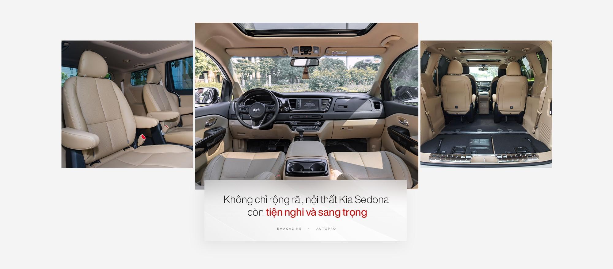 Đánh giá Kia Sedona: Sang trọng & Tiện nghi phục vụ từ gia đình tới doanh nghiệp - Ảnh 2.