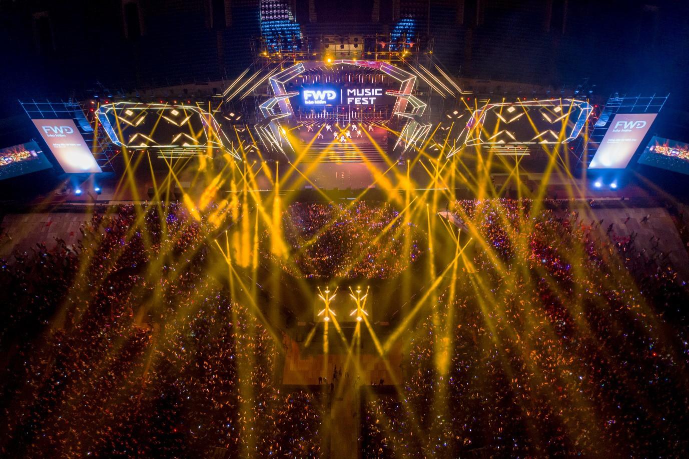 Sơn Tùng M-TP, Đen Vâu, Tóc Tiên, Hồ Ngọc Hà… mang đến quá nhiều màn trình diễn đỉnh cao tại FWD Music Fest - Ảnh 1.