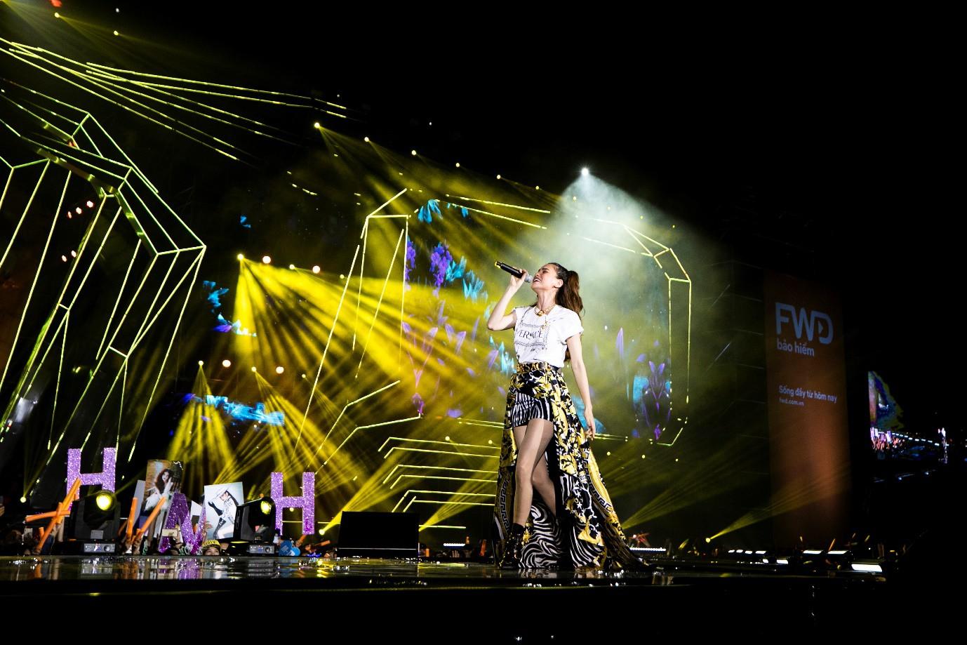 Sơn Tùng M-TP, Đen Vâu, Tóc Tiên, Hồ Ngọc Hà… mang đến quá nhiều màn trình diễn đỉnh cao tại FWD Music Fest - Ảnh 7.