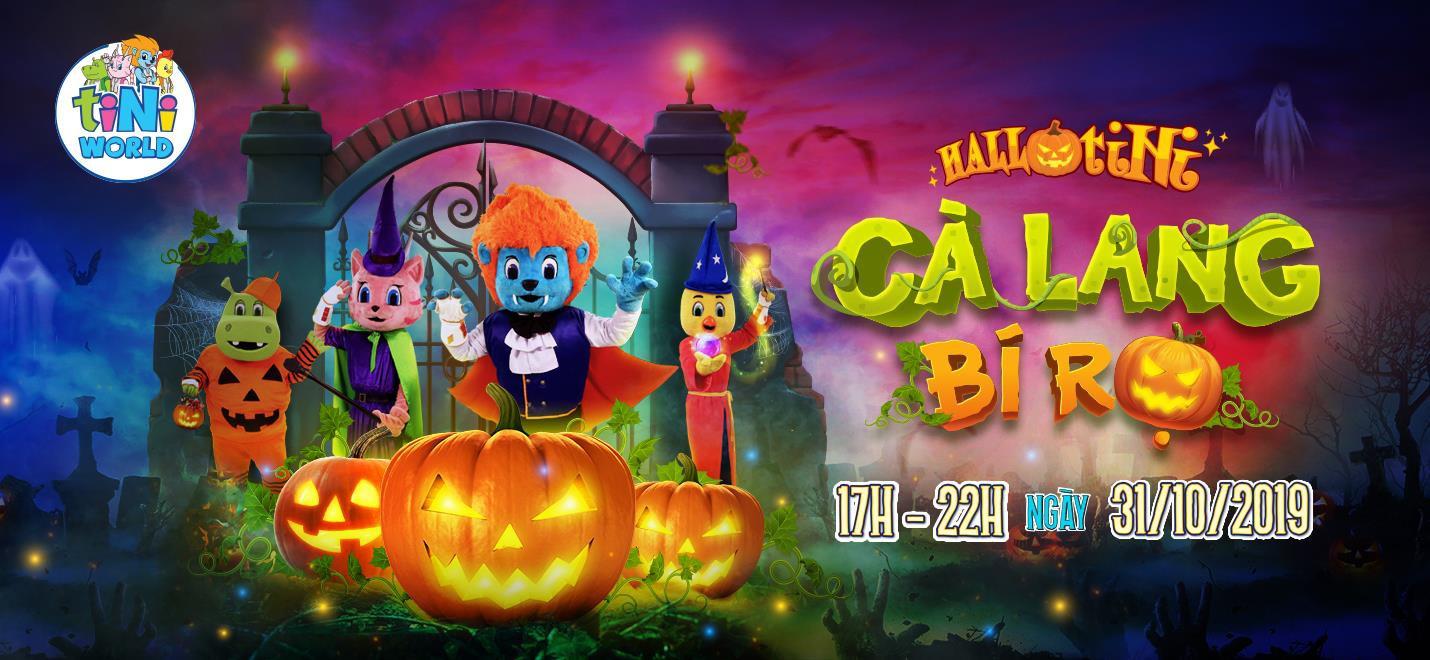 """Điểm đến Halloween: Hóa trang ấn tượng tại đêm hội """"HallotiNi Cà Lang Bí Rợ"""" cùng tiNiWorld - Ảnh 5."""