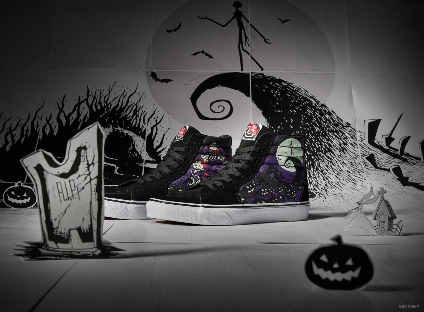 """Thiên hạ """"rần rần"""" đón Halloween với bộ sưu tập Vans X The Nightmare Before Christmas - Ảnh 2."""