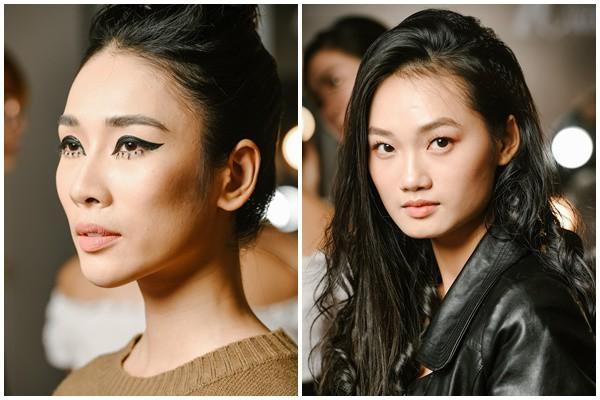 """""""Đột nhập"""" hậu trường Vietnam International Fashion Week VIFW: Không khí làm việc hăng say, chuyên nghiệp của team make up Tina Le - Ảnh 6."""