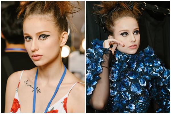 """""""Đột nhập"""" hậu trường Vietnam International Fashion Week VIFW: Không khí làm việc hăng say, chuyên nghiệp của team make up Tina Le - Ảnh 7."""