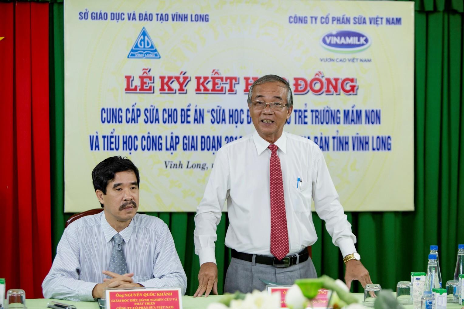 Chương trình sữa học đường chính thức đến với học sinh tỉnh Vĩnh Long - Ảnh 3.