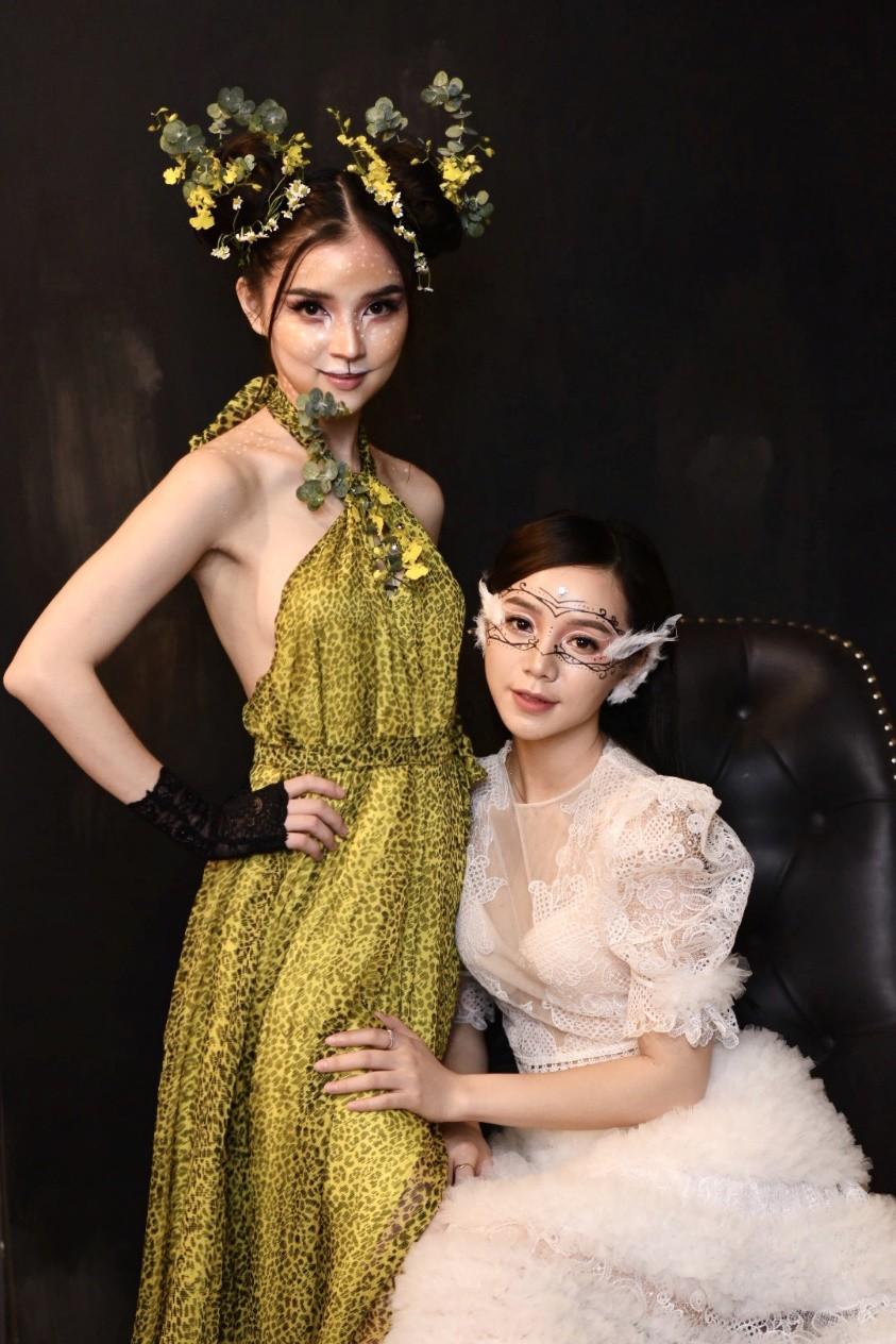 Hội chị em của Quỳnh Kool khiến cộng đồng mạng đứng ngồi không yên với tiệc Halloween quá chất - Ảnh 4.
