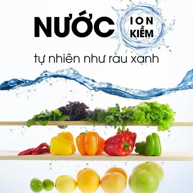 Nước ion kiềm - Giải pháp dinh dưỡng mới cho người đau dạ dày - Ảnh 1.