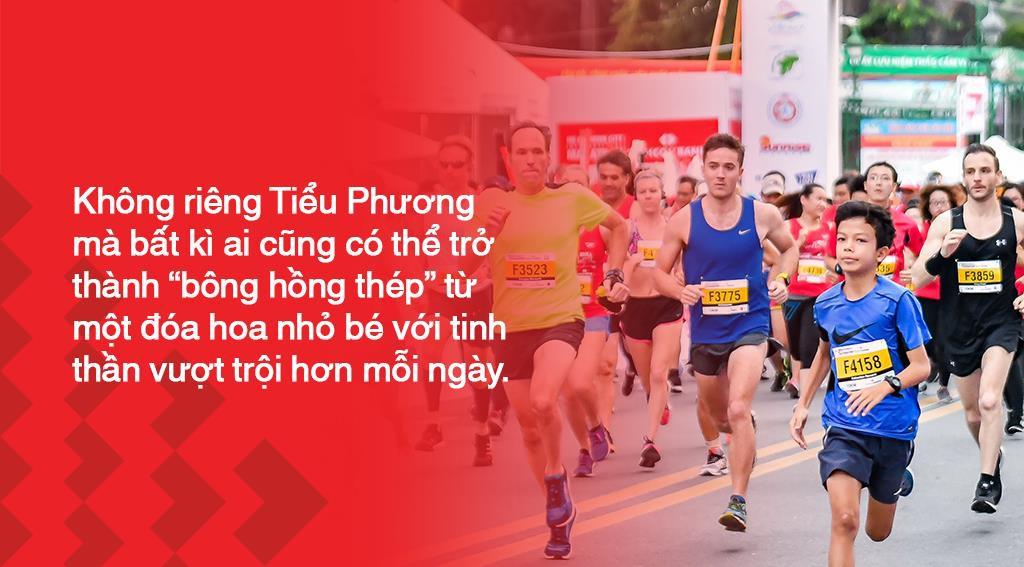 Marathon Techcombank 2019: Tiểu Phương và hành trình của bông hồng thép làng chạy Việt - Ảnh 6.