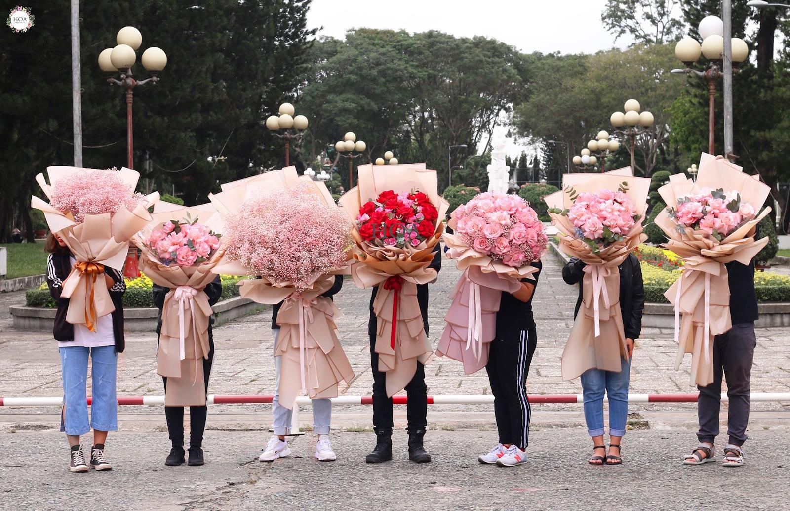 """Hoa Online 24/7: tiết lộ xu hướng hoa """"siêu to khổng lồ dành tặng phái nữ ngày 20/10 - Ảnh 5."""