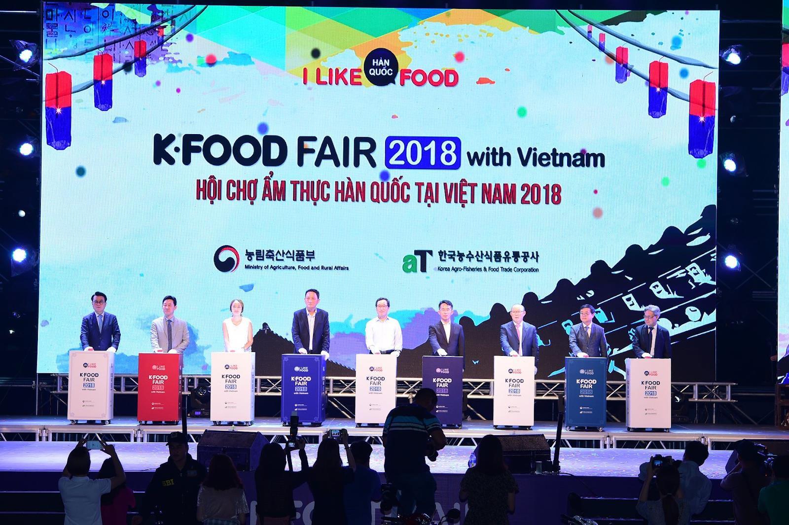 KFOOD FAIR 2019 - Sự kiện văn hóa ẩm thực Việt Hàn được mong chờ tháng 11 - Ảnh 2.