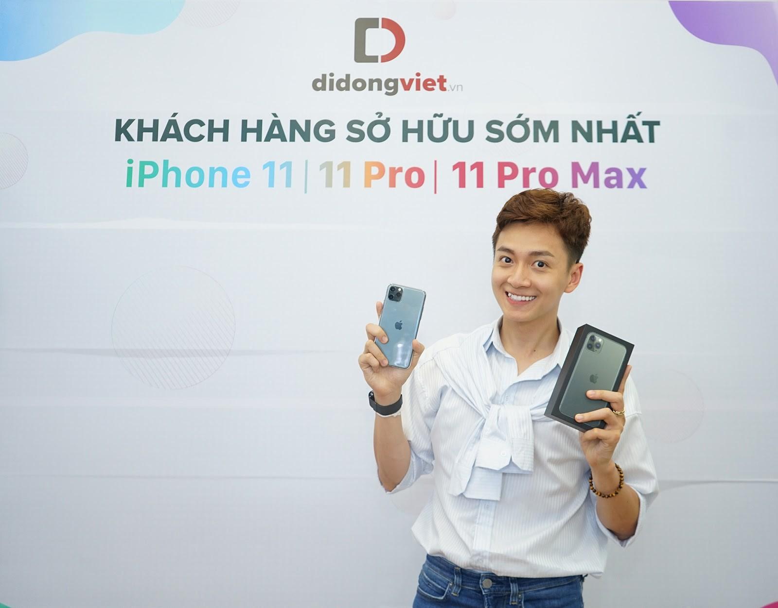 iPhone 11, 11 Pro, 11 Pro Max VN/A giảm đến 3 triệu đồng tại Di Động Việt trong 3 ngày mở bán - Ảnh 5.