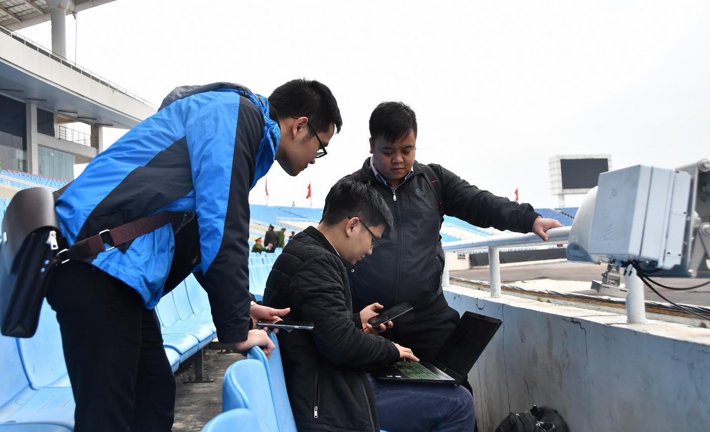 Viettel áp dụng công nghệ hàng đầu cho mạng lưới phục vụ trận Việt Nam - UAE - Ảnh 3.