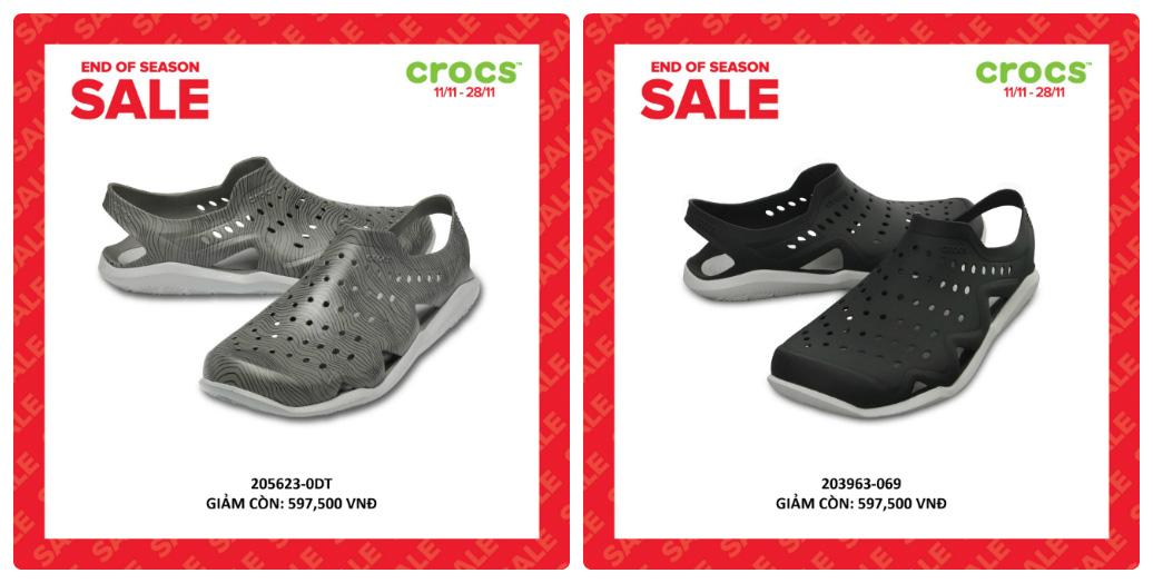 Crocs giảm giá đến 50% hàng ngàn sản phẩm hot tại các cửa hàng trên toàn quốc - Ảnh 5.