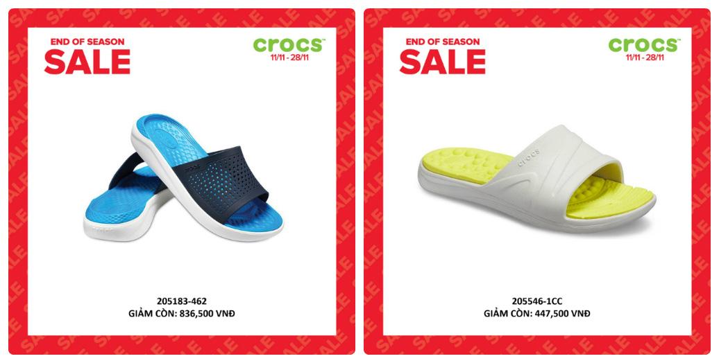 Crocs giảm giá đến 50% hàng ngàn sản phẩm hot tại các cửa hàng trên toàn quốc - Ảnh 8.