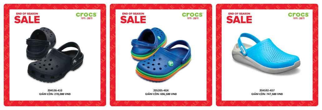Crocs giảm giá đến 50% hàng ngàn sản phẩm hot tại các cửa hàng trên toàn quốc - Ảnh 1.
