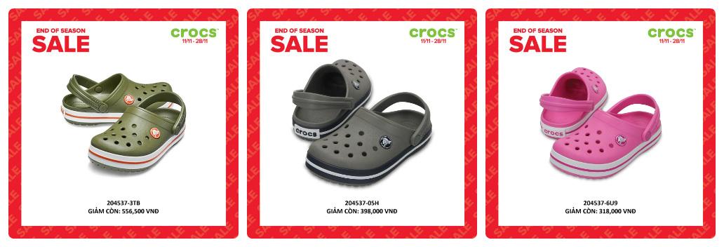 Crocs giảm giá đến 50% hàng ngàn sản phẩm hot tại các cửa hàng trên toàn quốc - Ảnh 2.