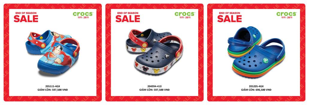 Crocs giảm giá đến 50% hàng ngàn sản phẩm hot tại các cửa hàng trên toàn quốc - Ảnh 3.