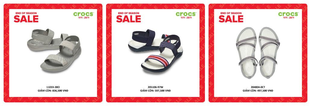 Crocs giảm giá đến 50% hàng ngàn sản phẩm hot tại các cửa hàng trên toàn quốc - Ảnh 4.